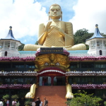 Le Temple doré à Dambulla