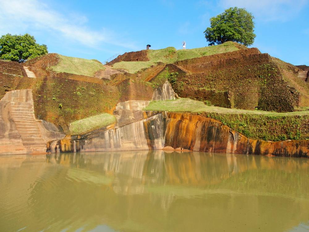 Le rocher de Sigiriya... La récompense après 1200 marches...